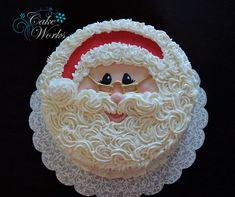 Santa Face on Cake Central