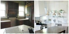 """The """"Almost-Unbelievable Total Kitchen Renovation for 5k"""" Makeover — Makeover 