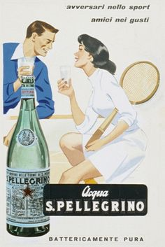 1960 – You can be competing on the court, but still share the love for S.Pellegrino!
