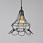 Simple Style Metal Cage Chandelier – USD $ 59.99