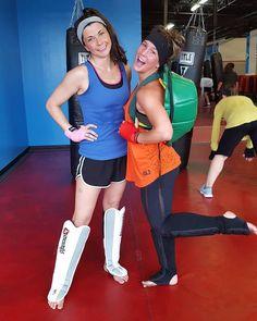 My 1st day training partner at BoxFit.~ Jess Capurso #Training #BoxingTraining #Boxing #Gym #Workout  iLiveFit FIGHT2BFIT! LIVEFIT! JOINTHEFITREVOLUTION!