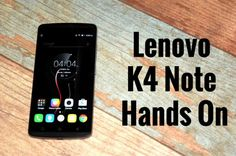 Today Lenovo launched their next edition of note,the successor to K3 note dubbed as Lenovo K4 note. This latest smartphone shows a major upgrade in features rather than much in Specs.  I, myself went hands-on with Lenovo K4 Note at the launch event to find out what the smartphone is all about.So lets get into it.