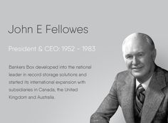 100 Years of Fellowes Record Storage, The Expanse, Storage Solutions, United Kingdom, Presidents, The 100, Shed Storage Solutions, England