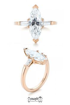 Custom Three Stone Diamond Engagement Ring Floral Engagement Ring, Filigree Engagement Ring, Classic Engagement Rings, Designer Engagement Rings, Proposal Ideas, Stone, Rock, Stones, Batu