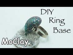 I will show you how to make the base of a ring and how to embed a gem made with polymer clay. Enjoy! :-) Materials and tools i used: - Polymer clay - glitter...