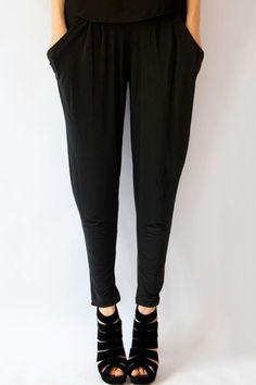 Black Harem Pants OASAP.com