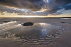 Tidal pool - Ambleteuse, Belgium by Bart Heirweg