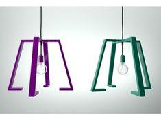Lámpara colgante de metal revestido BERLINER 2 - Altinox Minimal Design