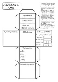 This terrific activity provides a lovely means to get to know your new students and to decorate your classroom in the early days of the new school ...