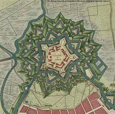 Citadelle de Lille, France - fricx 1709