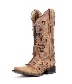 Corral Brown Sequin Eagle Cowgirl Boots | The o'jays, Cowgirl ...