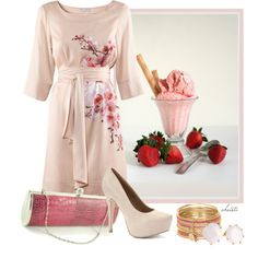 """Strawberry"" by christa72 on Polyvore"