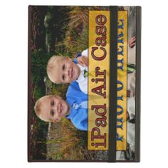 iPad Personalized Photo Cases for iPad AIR iPad Air Cases.  iPhone, iPad, Laptop Cases for PC and MAC Cases with YOUR PHOTOS and or TEXT.  Not only protect your devices but show off YOUR PHOTOS and TEXT http://www.zazzle.com/littlelindapinda/gifts?cg=196221416973479736&rf=238147997806552929*/   ALL of Little Linda Pinda Designs CLICK HERE: http://www.Zazzle.com/LittleLindaPinda*/