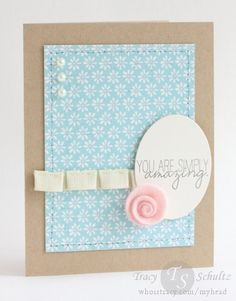 Simply Amazing by Tracy Schultz- new paper from Carta Bella, new stamps from WPlus9, and other goodies at IHP.