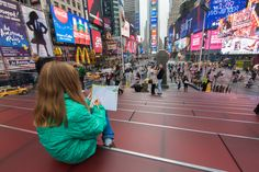 New York Weekend Getaway: Sketching in Times Square in the Westin Travel Journal