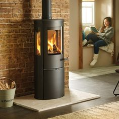 The Lotus Liva 6 woodburning stove