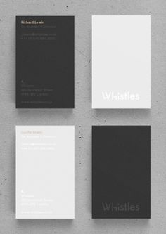 Whistles by Mark Niemeijer, via Behance