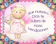 Que nuestro Dios te cubra de ricas bendiciones | Palabras de Animo.com