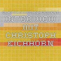 Classroommanagement - Interview mit Christoph Eichhorn