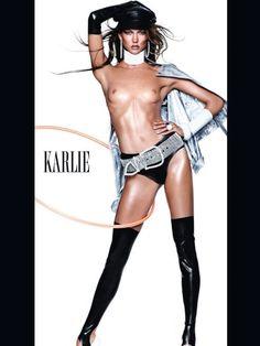 Modelos fazem topless para revista de moda da Espanha