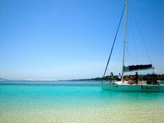 Mauritius - a secluded island & a catamaran called Babacool, ain't that cool?