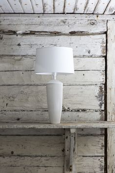 This ceramic lampstand belongs to Vekki series. Solid and beautiful ceramic pleats suit the lampstand as well as your best skirt! Made in our own pottery in Posio, Finland, these ceramic utensils and tableware are extremely durable and long-lived. Ceramics, Candle Holders, Lamp, Living Room Decor, Living Room, Durable, Interior, Beautiful Candles