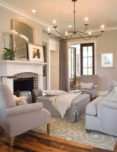 Simple yet stylish living room