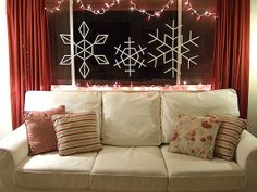 Popsicle Stick Snowflakes — How To