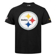 T-shirt New Era team logo NFL Pittsburgh Steelers - Touchdown Shop