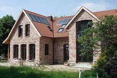 Einfamilienhaus mit historischen Backsteinen