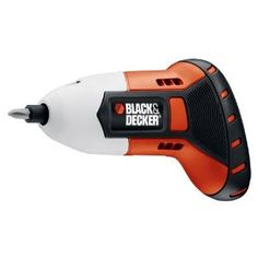 Black & Decker BDCS40G 4-Volt Max Gyro Screwdriver - This thing is gyro based  - tilt right, screw in, tilt left, screw out.  $39.00 on Amazon