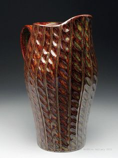 Dyann Myers Teadust Pitcher at MudFire Gallery