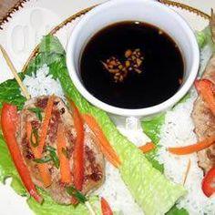 Photo de recette : Rouleau de laitue vietnamien