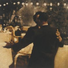 Painting : Anne Magill really enjoying her work at the moment