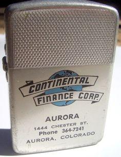 Rare promotional lighter from Aurora, Colorado - Under $5!