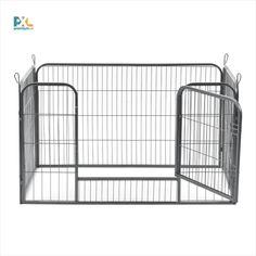 Skladacia ohrada, kovový výbeh pre zvieratá ABWI-5208 obdĺžnikový s dvierkami. Táto skladacia ohrada ABWI-5208 je výborným riešením pre výbeh menších domácich zvierat, napr. šteniatok, králikov, hlodavcov a pod. Skladacia ohrada má široké možnosti použitia aj ako oddeľovacia stena, ochranná mreža ... Ľahko a rýchlo sa dá zložiť a rozložiť, ľahko sa prenáša a vyvýšené dvierka zabránia zvieratám ľahko utiecť.