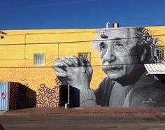 Einstein by Levi Ponce in Reseda, CA (LP)