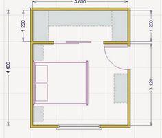 Le misure dell\'uomo nell\'abitazione : la camera da letto | Letti ...