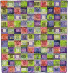 Splashes of Color   AllPeopleQuilt.com