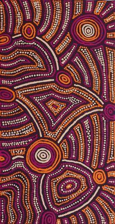 Pikilyi Jukurrpa (Vaughan Springs Dreaming) by Theo (Faye) Nangala Hudson