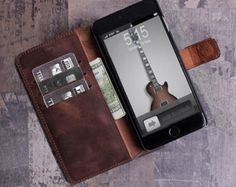 Bekijk alle stijlvolle iPhone hoesjes - #leather iphone 5s case apple | iPhone 5s Case Wallet iPhone 5s case vintage by barvaleather - http://ledereniphonehoesjes.nl