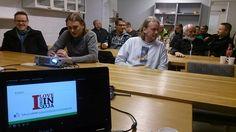 #taimen #helsinki ensimmäinen #Longinoja esitelmä takana.KiitosKutsusta SuomenlahdenUistelijat.http://on.fb.me/1JmXahI