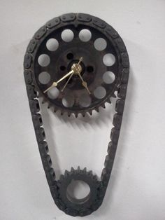 Welded Chain Art | Thread: Industrial art using recycled auto parts.