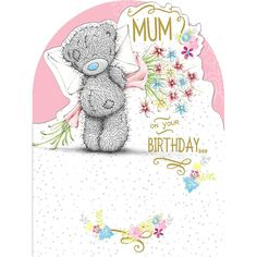 Mum Birthday Large Me to You Bear Card £3.59