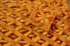 Pasta Flora aka Cyprus Apricot Jam Cookie Recipes. Find the full recipe here: http://www.afroditeskitchen.com/?p=1537