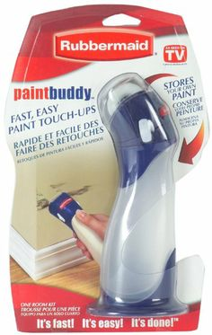 Rubbermaid 57930 Paint Buddy - Put leftover paint in this and do touch ups whenever you need!