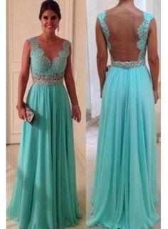 Hot Sale Sheath Sweetheart Beadings Nude Back Blue Lace Chiffon 2013 Sexy Long Evening Dresses WD0224