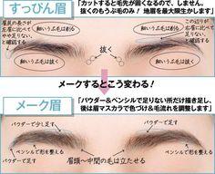 眉毛のお手入れで迷走している方への解説が非常に参考になると話題に!「眉毛ホント困るよねぇ」 - Togetterまとめ