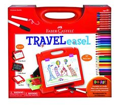 Kids' Easels - FaberCastell Do Art Travel Easel ** Details can be found by clicking on the image.