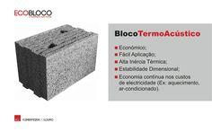 NOVIDADE  BlocoTermoAcústico   --  NEW BlocoTermoAcústico   #acl #aclouro #acimenteiradolouro #betao #concrete #bloco #block #design #arquitectura #architecture #architektur #construçao #construction
